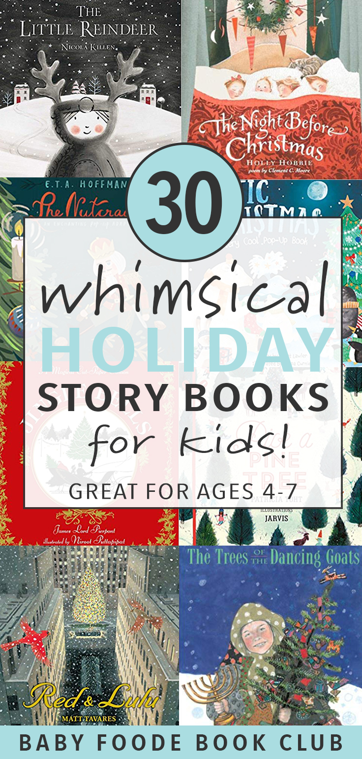 30 Whimsical Holiday Story Books for Kids