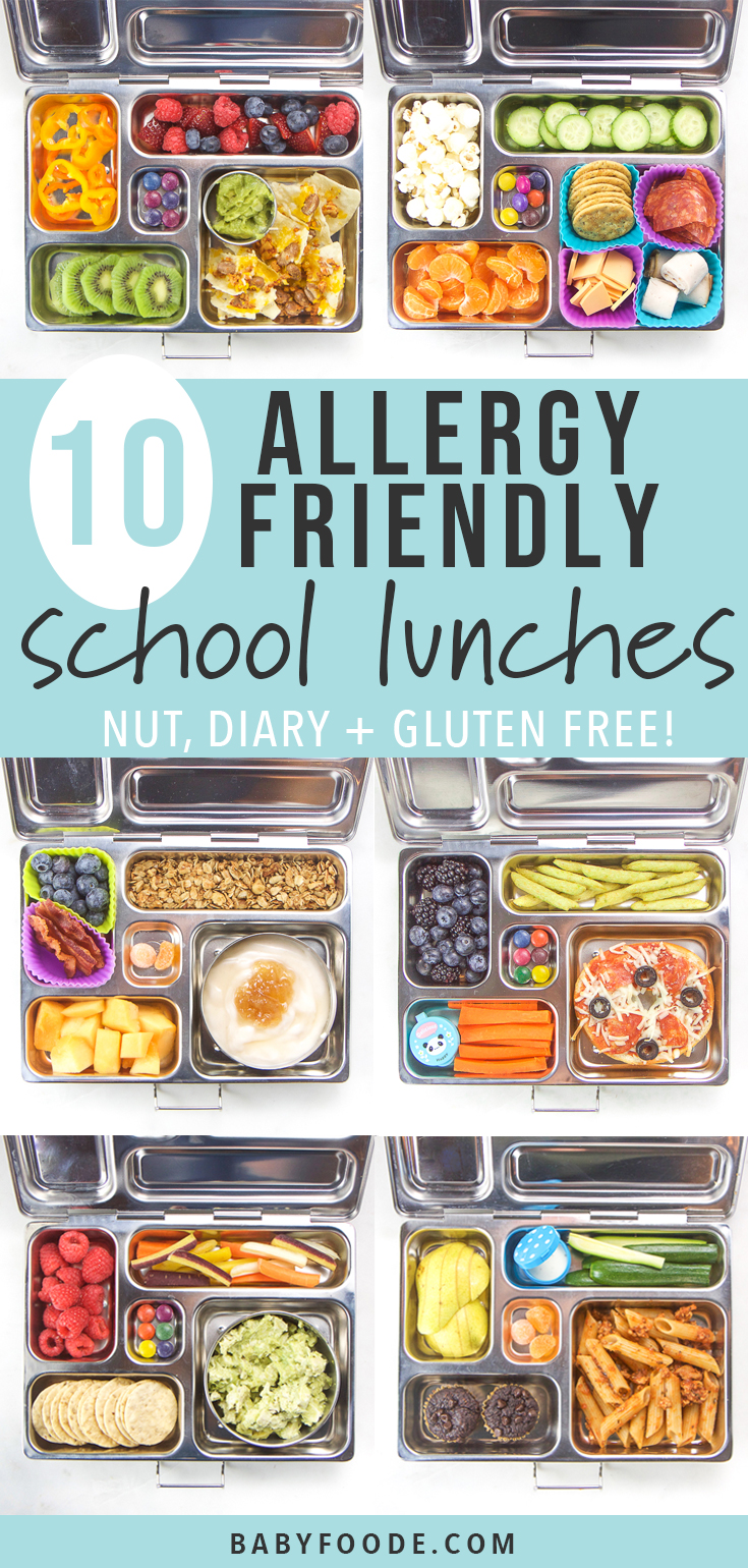 10 Allergy Friendly School Lunches