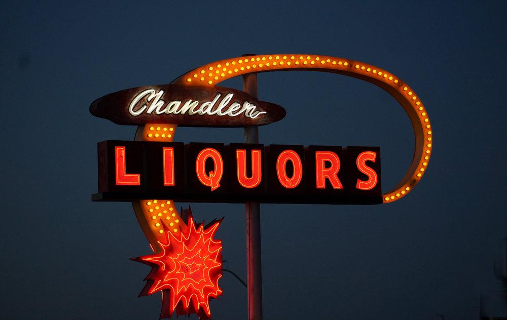 1960. Chandler Liquors