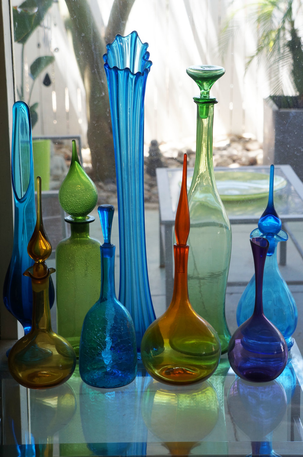 1960s. West Virginia Glass