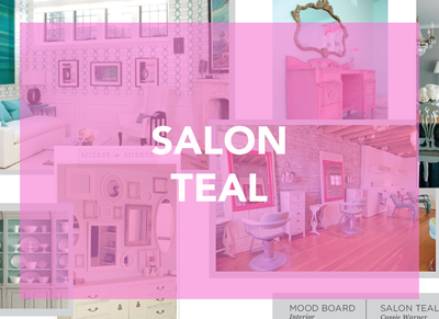 Salon Teal