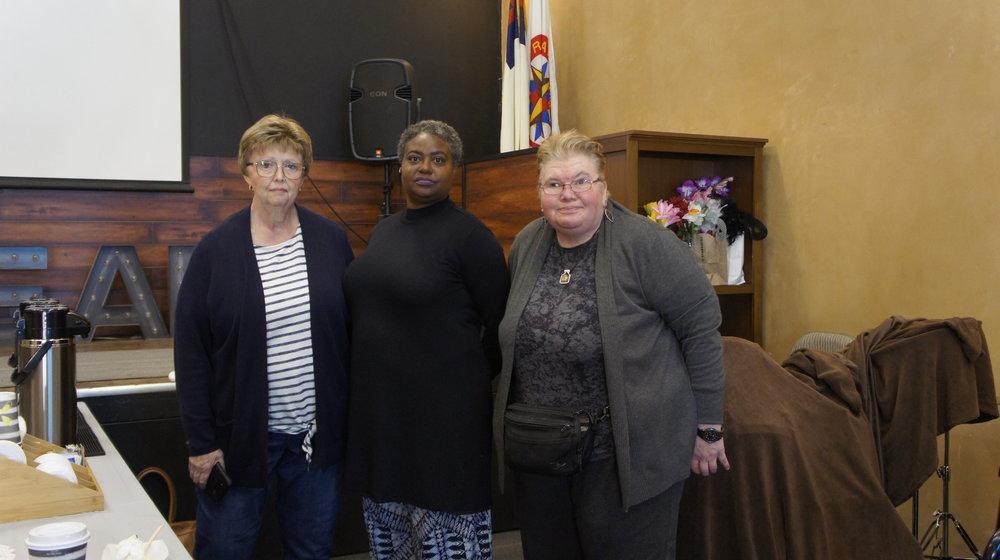 Sandi, Tamara, and Pat - Compassion Meals Ministry