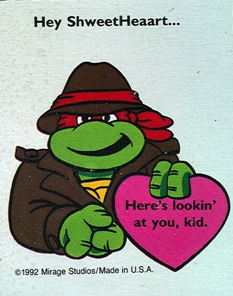 Teenage Mutant Ninja Turtles Valentine