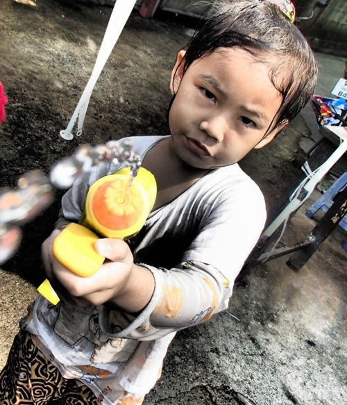 Songkran child
