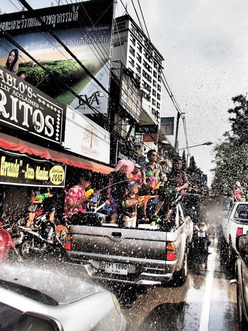 Songkran trucks