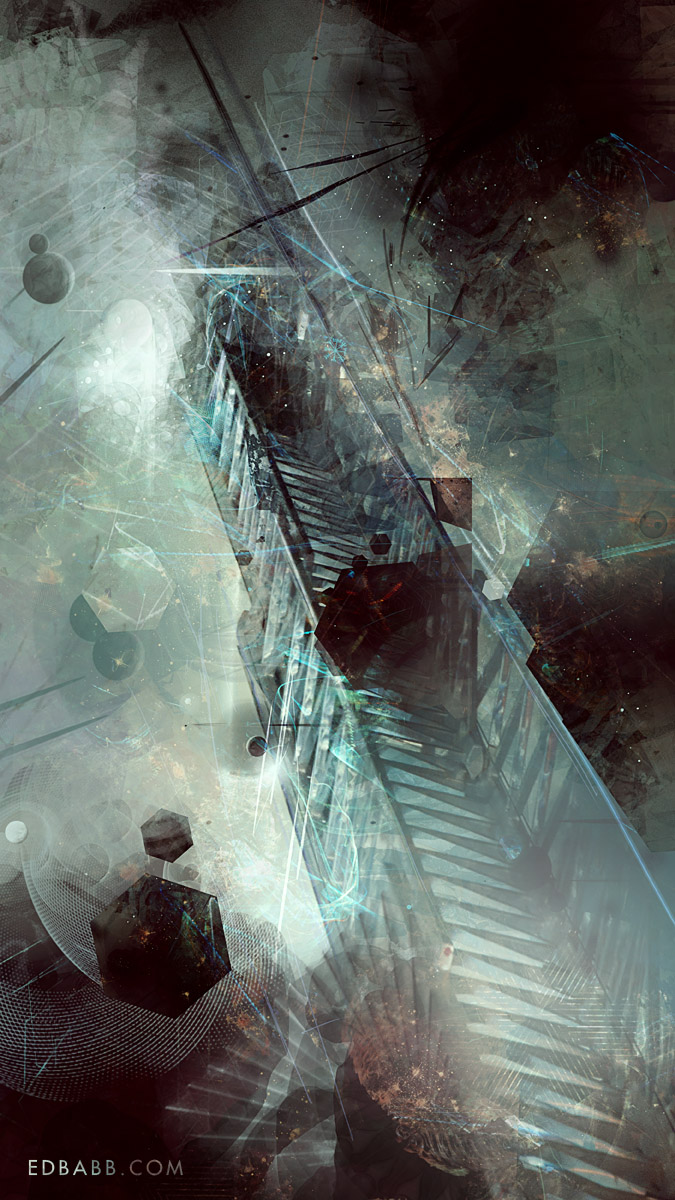 Ladders: Initiation   digital painting