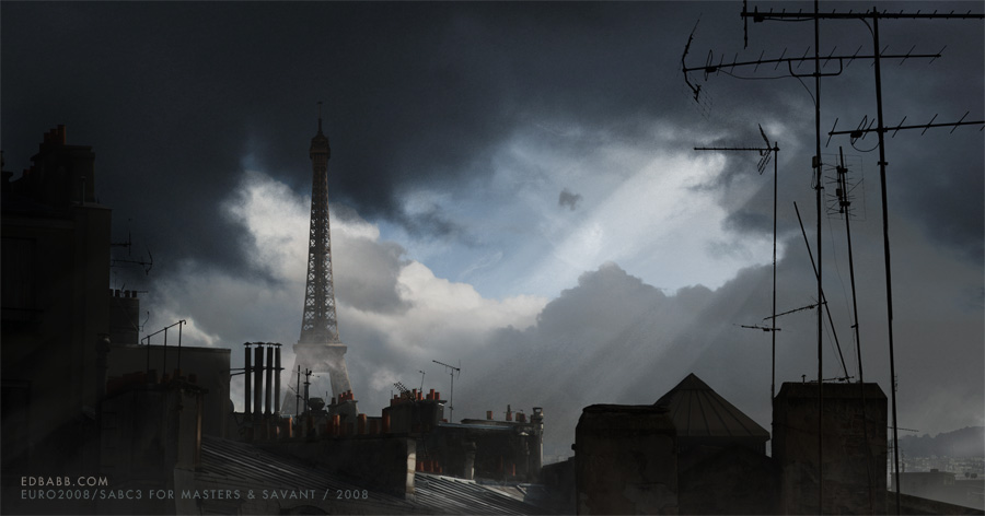 Paris before the addition of the Colossus