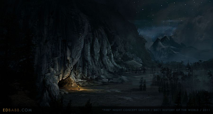 Cave of Needles (Night)