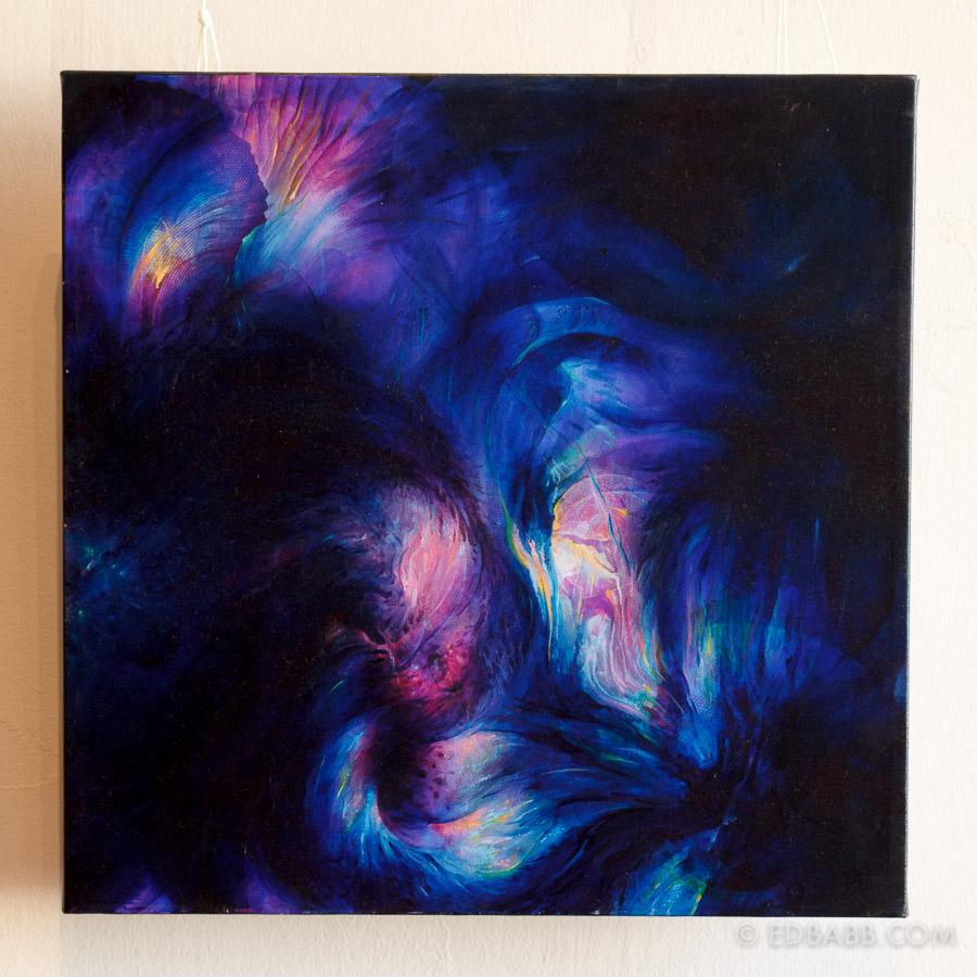 Nebula, 50x50cm