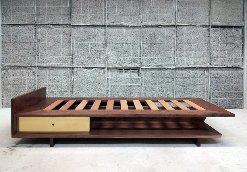 Walnut Daybed