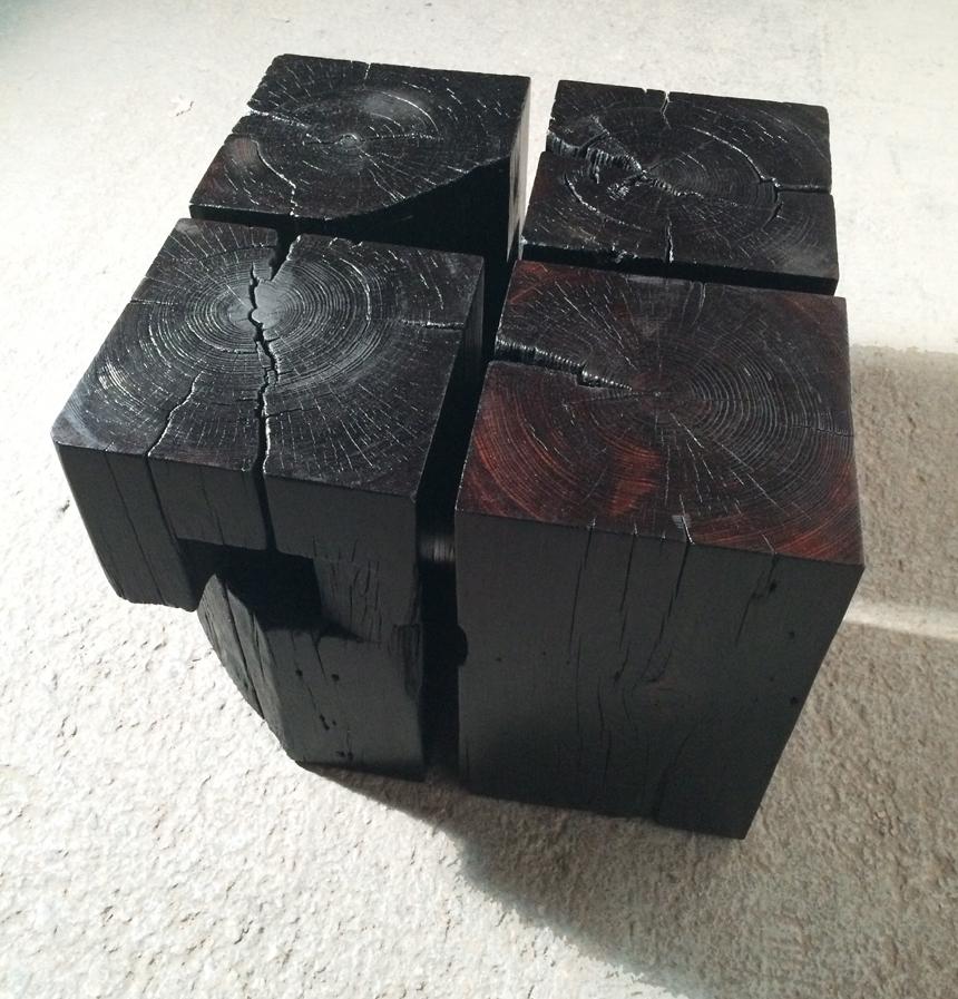 BLACKENED STOOL