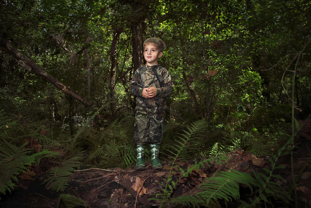 young alligator hunter louisiana