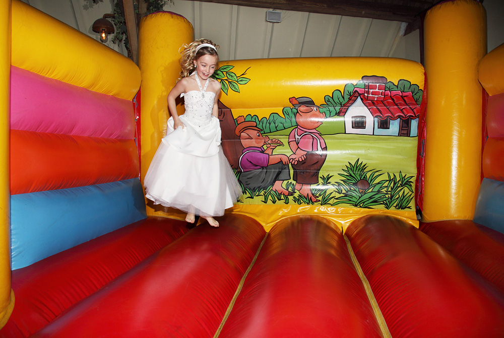 first communion jumping castle