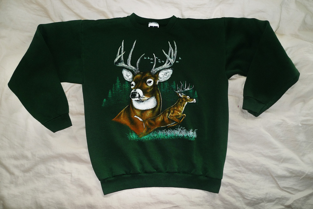 hunting sweater