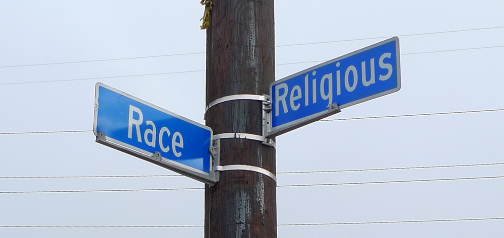 corner of race and religious