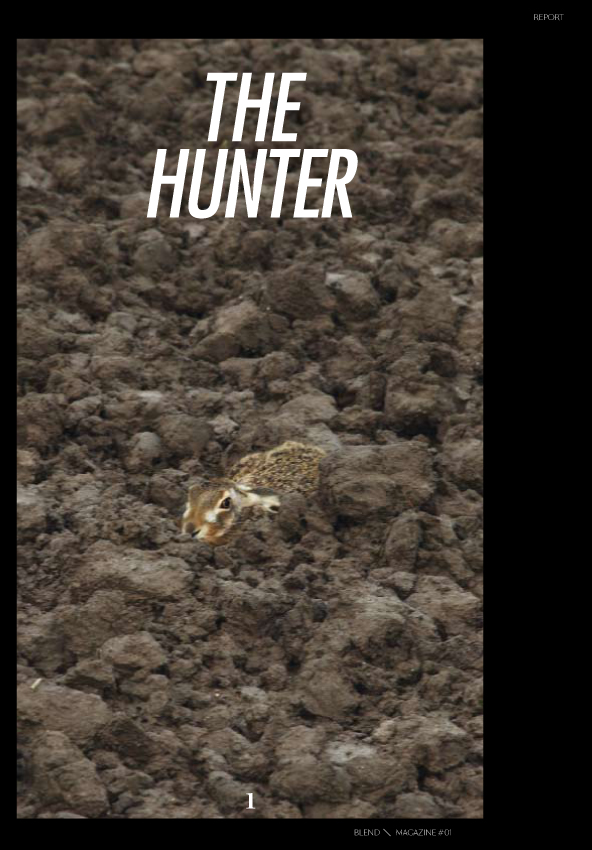 blend hunter cover