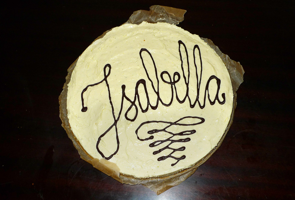 cheese cake typography
