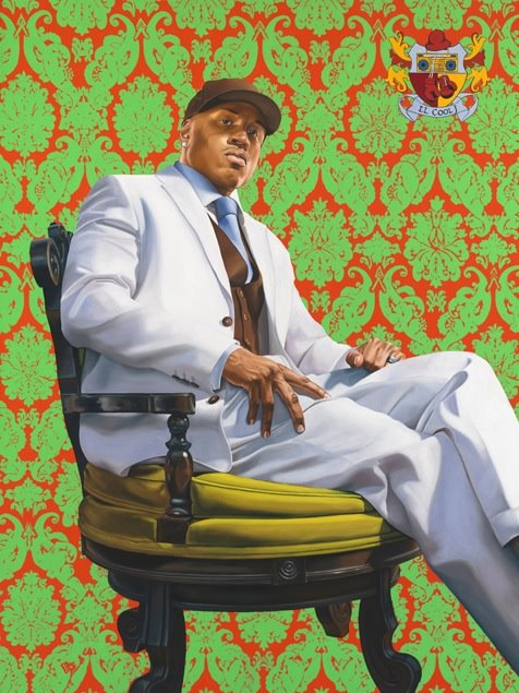 LL Cool J  Kehinde Wiley, 2005