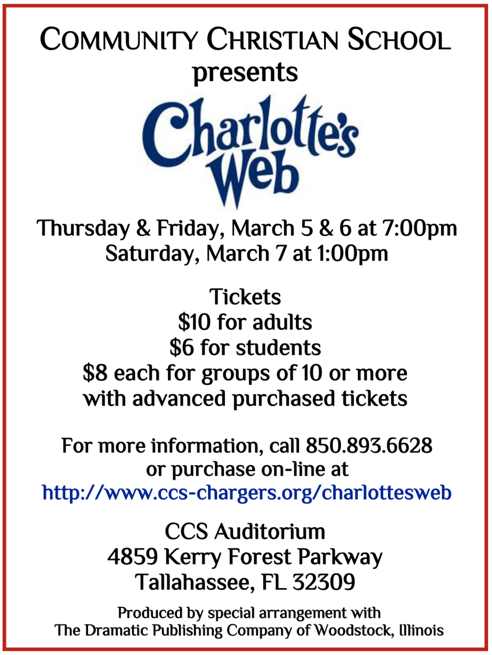 Charlottes Web quarter page flyer.png