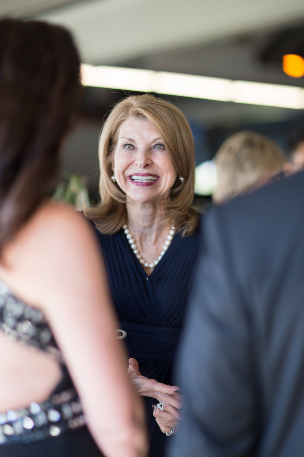 Pam Tebow shares a fabulous smile with gala attendees