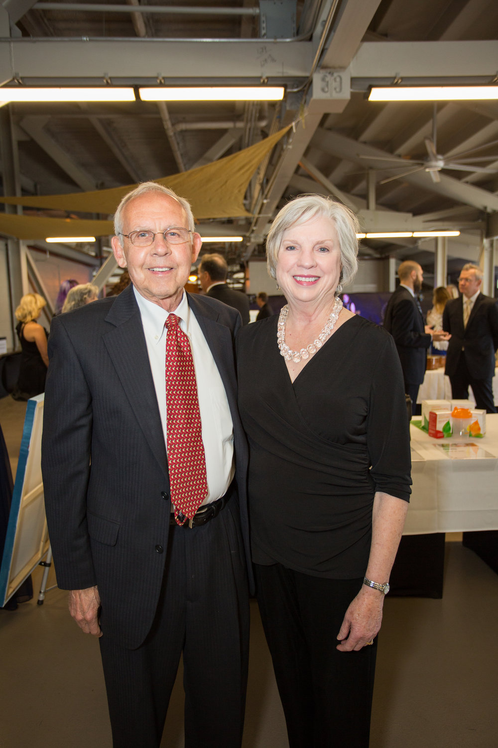 CCS Grandparents and gala sponsors Ken and Jean Boutwell