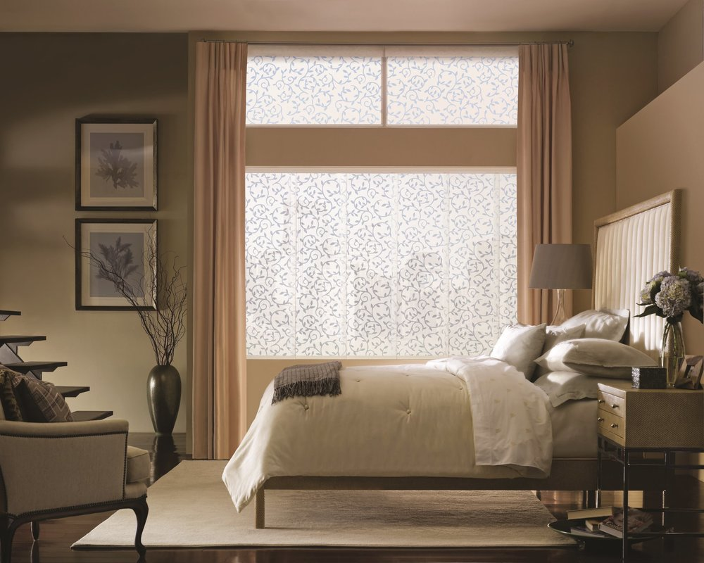 Bedroom window treatment