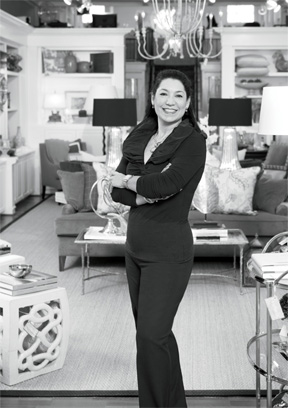 LUXE Interiors + Design, Summer 2014: Victoria Sanchez is profiled as a prominent area Style Makers.