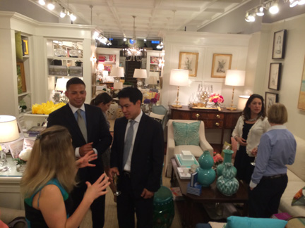 The Cribline Blog, May 15, 2014: An evening reception at the shop is chronicled on DC's popular real estate blog.