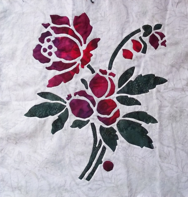 Rose (2 of 9)  , Applique and reverse applique