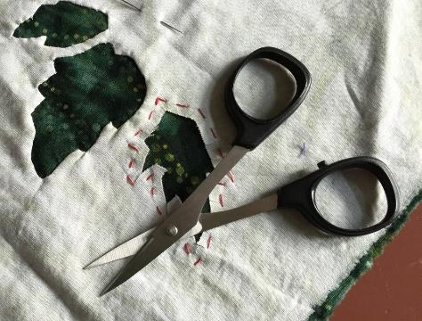 """N5100 4"""" straight Kai scissors   . Honed specially for Eye of the Beholder."""