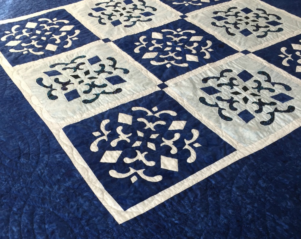 Double Dutch Delft Quilt