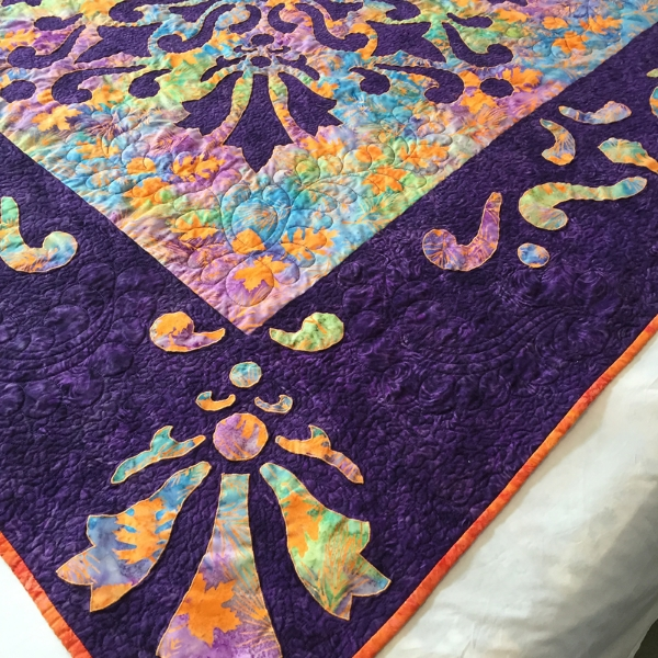 All beautifully quilted by long arm quilter, Brenda Willis, Cozy Quilting.