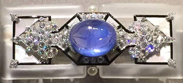 Cartier brooch. Paris, 1924. Taken while on exhibit at the Denver Art Museum, 2014.