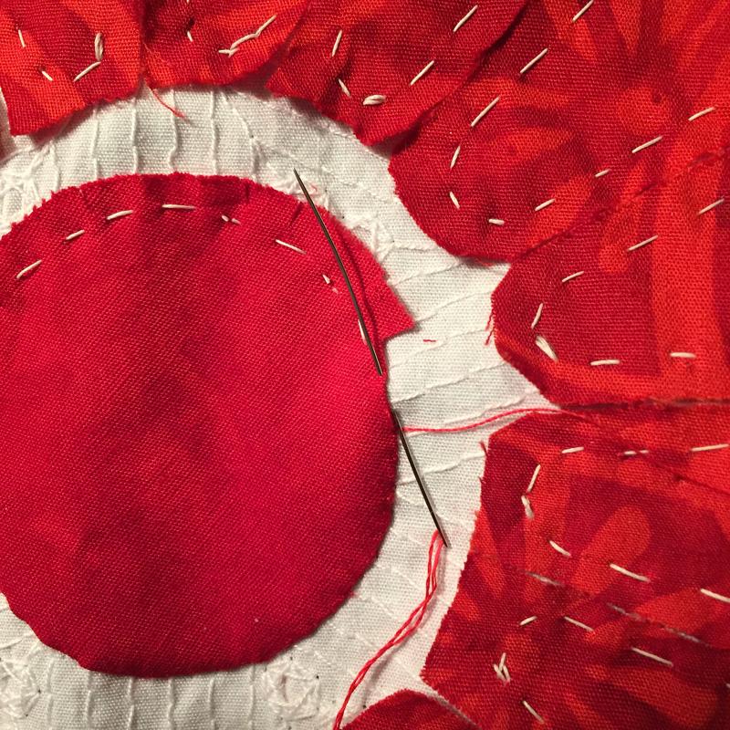 stitching-A circle