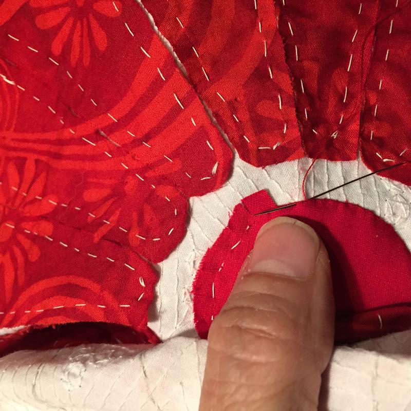 Taking stitch-A circle