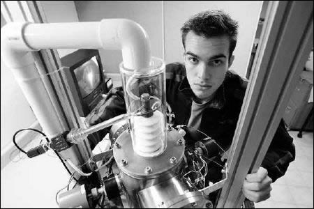 Thiago Olson. 17-year old student who built a nuclear device in his basement