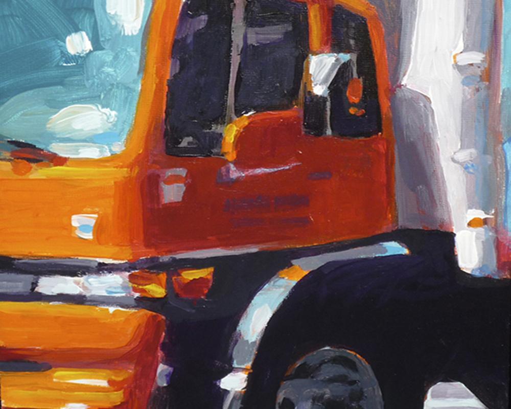 Big Orange Truck