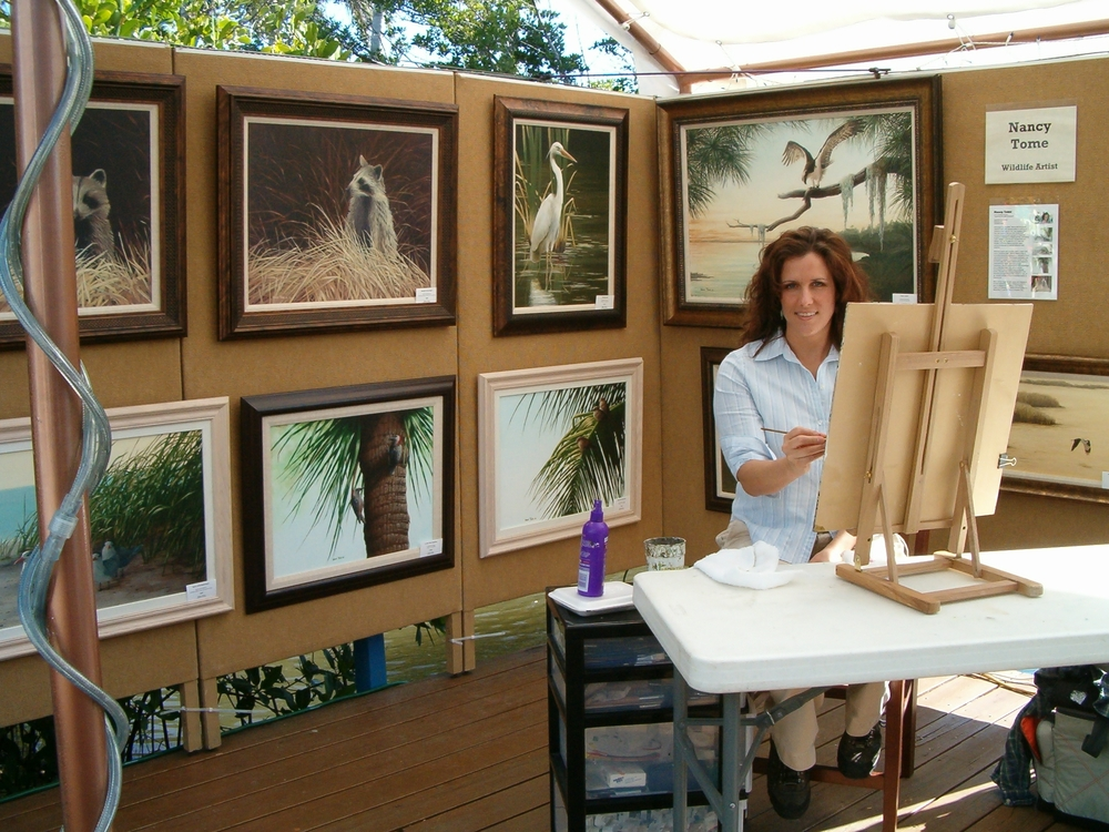 WWW.NancyTome.com  wildlife artist wildlife artists birds