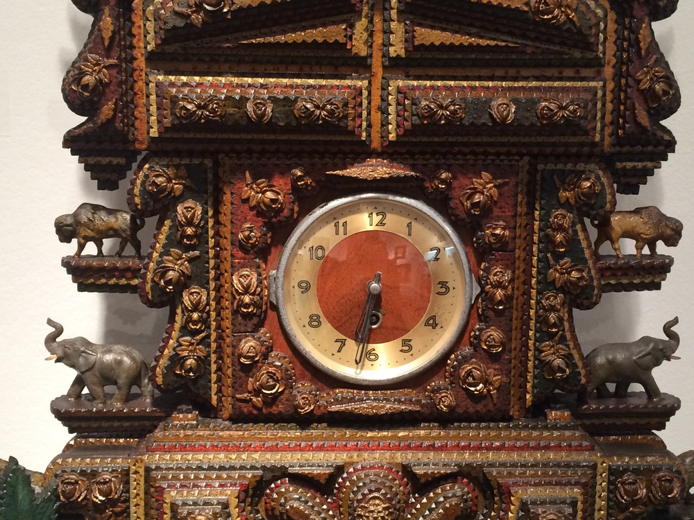 Detail of clock