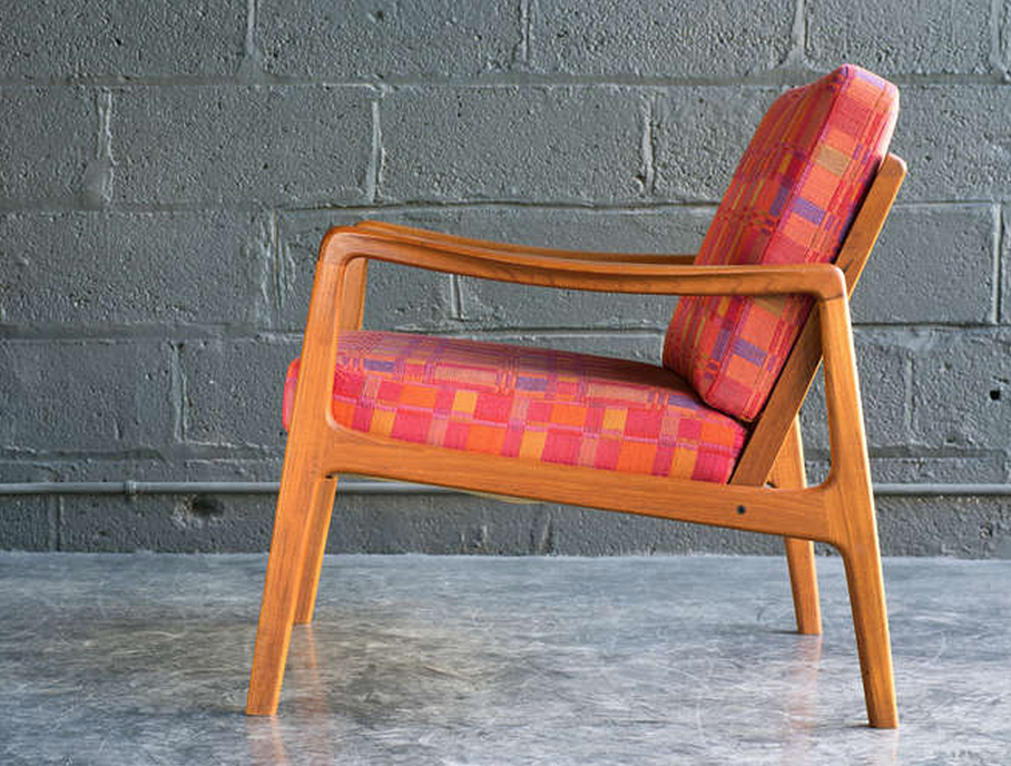 Easy Chair by Ole Wanscher