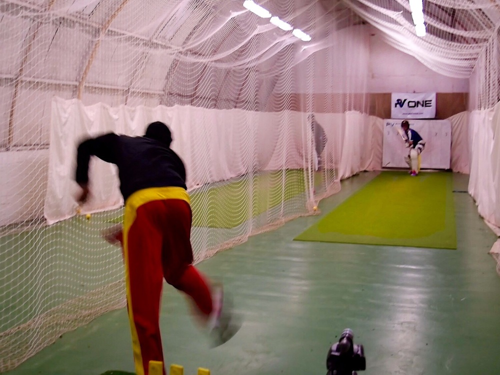 2016 Preseason nets at West of Scotland Cricket Club