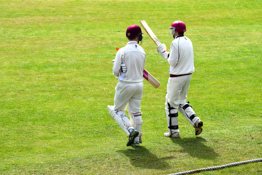West of Scotland openers, Farndale and Watson, take the field for the first match of 2016.