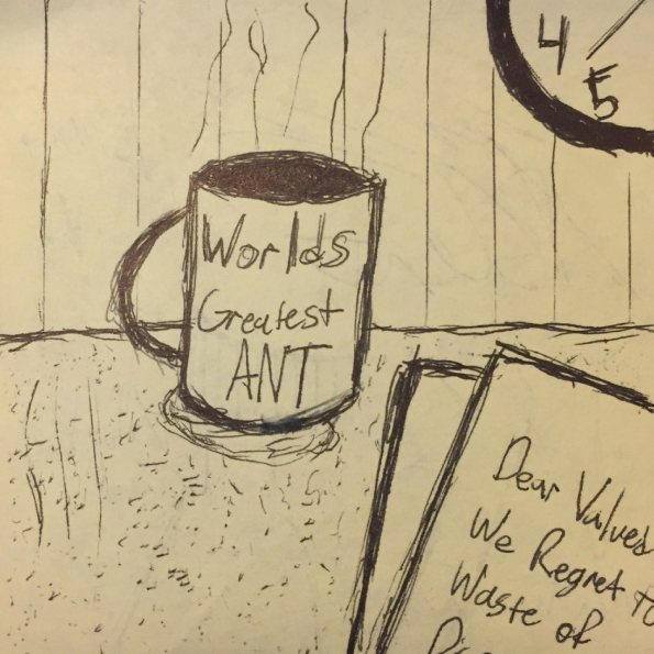 "Kirk's Post-It ""Artwork"""