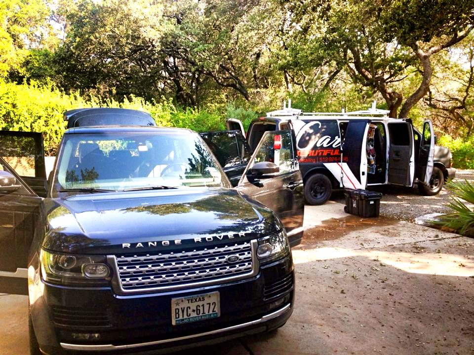 SUV Detailing Austin