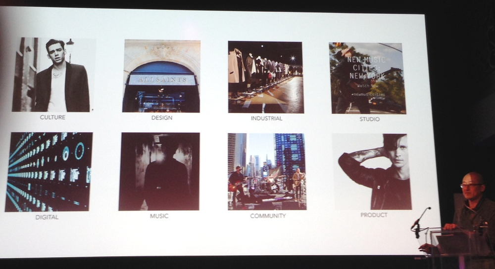 William Kim, CEO,  AllSaints  breaks down the components of a brand