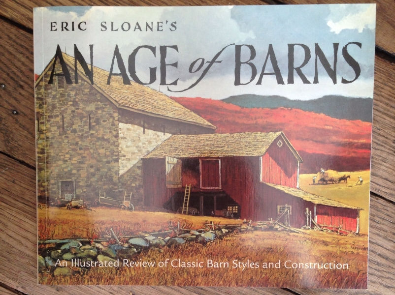 One of my favorite books on Barns. An in depth study from Eric Sloane