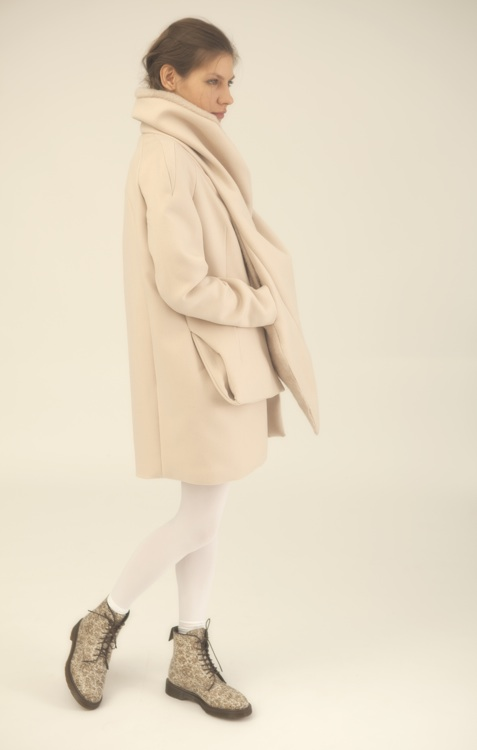 Fall I // Nude Cashmere Wool