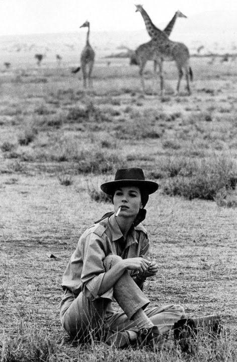 Elsa Martinelli in Hatari! by Howard Hawks 1962