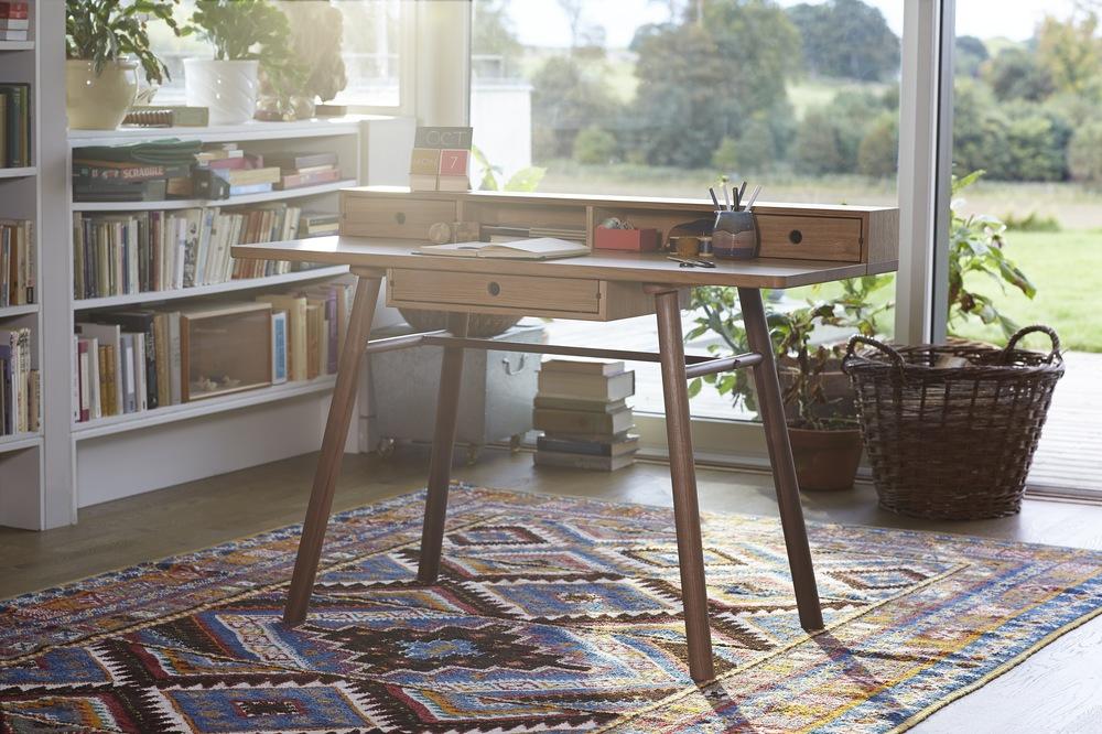 Bespoke desk by Namon Gaston furniture maker and designer