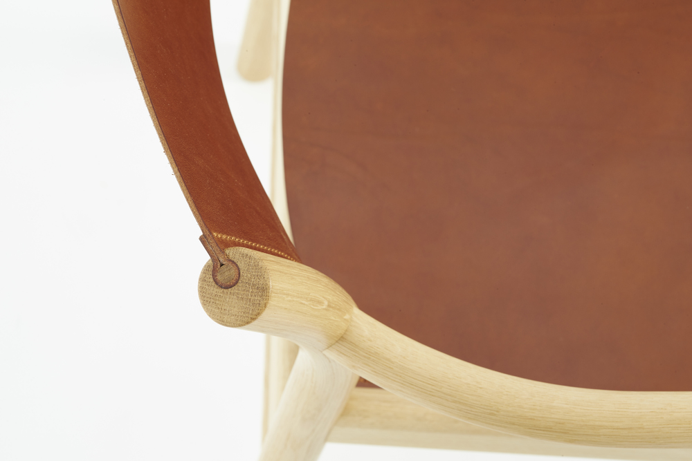Oxbow Armchair Detail